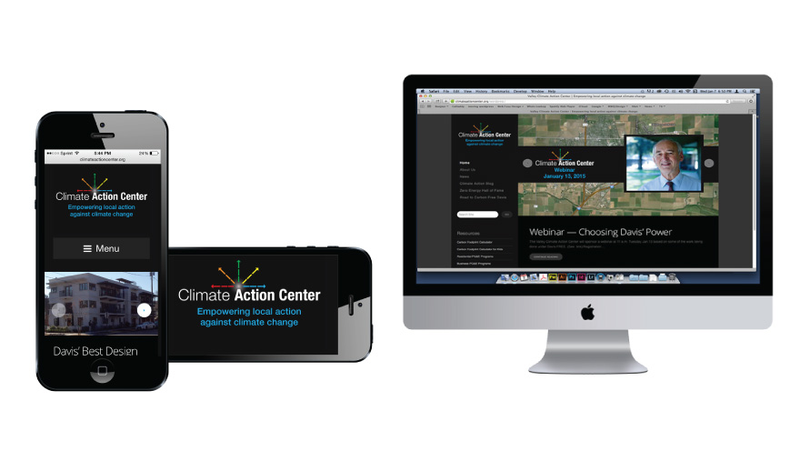 climate action center new website